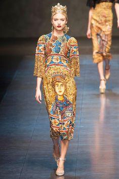 Dolce & Gabbana Fall 2013 RTW Collection - Fashion on TheCut