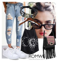 """1/5#romwe"" by fatimka-becirovic ❤ liked on Polyvore featuring Mismo"