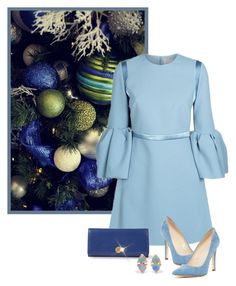 """""""Sem título #934"""" by soleuza ❤ liked on Polyvore featuring Roksanda, PS Paul Smith, WWAKE, Calvin Klein and Chanel"""