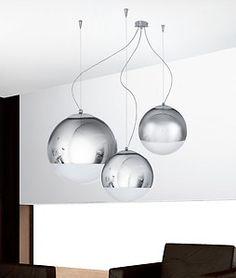 Dettagli su Lampadario lampada sospensione design moderno acciaio bianco penisola cucina  Cucina