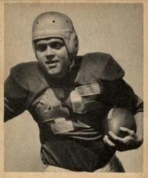 1948 Bowman #65 Mike Holovak Front