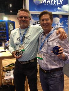 GHM Editor Fred Garth with the Doug Dragoo, President of Abel Reels.