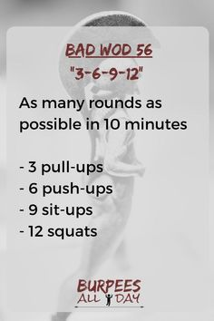 For this workout, all you need is a timer and a pull-up bar. For more workouts, … For this workout, Pull Up Workout, Amrap Workout, Pull Up Bar Workouts, Cross Fit Workouts, Fitness Workouts, Fun Workouts, Fitness Gear, Fitness Motivation, Entraînement Boot Camp