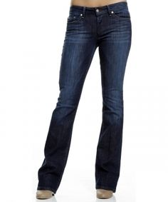 Joe's Jeans - The Honey in Ryder wash.  I swear the best fit for curvy women (like me) with hips, a bum, and small waist.  The fit is sexy and they don't feel like they're going to fall down :)