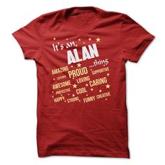 ALAN THING T SHIRT T Shirts, Hoodies. Check price ==► https://www.sunfrog.com/Names/ALAN-THING-T-SHIRT.html?41382 $22.9