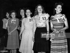 Rome, 1947, Beauty Contest Gina Lollobrigida 27, Silvana Mangano 104