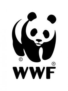 Dit is een goed logo voor het WWF omdat ze bedreigde diersoorten beschermen en een reuze panda is daar een van