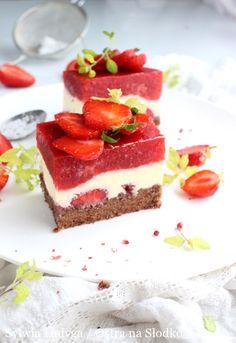 Polish Desserts, Sweets Cake, Pie Dessert, Food Cakes, Tiramisu, Cake Recipes, Cheesecake, Food And Drink, Snacks