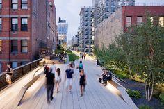 High Line by James Corner Field Operations, via Behance