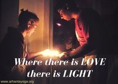 Where there is love, there is light.  Candle meditation with Omkar at Arhanta Yoga Ashram India. https://www.arhantayoga.org