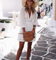 Fashion Summer Casual Simple Street Styles 47 Ideas For 2019 Simple Street Style, Street Style Summer, Trendy Dresses, Nice Dresses, Fashion Dresses, Latest Fashion For Women, Trendy Fashion, Womens Fashion, Cute Shorts