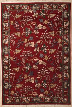 This beautiful Handmade Knotted Rectangular rug is approximately 5 x 7 New Contemporary area rug from our large collection of handmade area rugs with Persian Farahan style from Pakistan with Wool