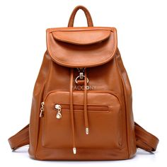 BBAO - Classic Cool Preppy Style Lady Backpacks