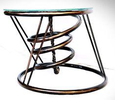 Konferenčny stolík s hodinami / Sanity-Universe - SAShE. Coffe Table, Universe, Coffee, Furniture, Home Decor, Kaffee, Decoration Home, Room Decor, Cosmos