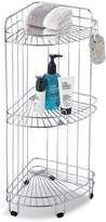 Neu Home 3-Shelf Chrome Rolling Corner Caddy Corral your favorite # #shower products or stash hand towels and other small items in the corner with this convenient rolling caddy. Chrome wire helps drain your shelves easily so you can use this rolling shelf for extra shampoos, lotions and more for #organization where you need it. #ad #itsfunhere #hsn