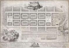 Plan for Edinburghs New Town. James Craig, 1768
