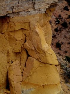 Face in the Rock, Ghost Ranch, Northern New Mexico, by Caitlin Harper