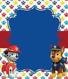 New Birthday Invitations Ideas Paw Patrol Ideas 3rd Birthday Parties, Boy Birthday, Birthday Ideas, Paw Patrol Masks, Paw Patrol Birthday Decorations, Imprimibles Paw Patrol, Paw Patrol Party Invitations, Scrapbook, Invitation Templates