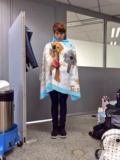 jin's twitter update: cold jin (omg Jin is literally a 5 yr old princess)