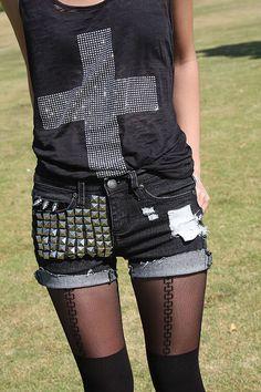 Love shorts and tights.