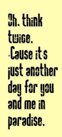 Phil Collins - Another Day In Paradise Lyrics | MetroLyrics