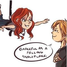 The Mortal Instruments- Clary and Jace