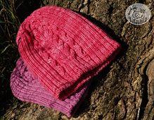 Ravelry: Veresk pattern by Olga Beckmann Malabrigo Merino Worsted Shocking pink