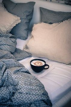 warm bed, coffee and a good book