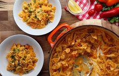 Mmm, deze romige Spaanse paella pasta is supermakkelijk om te maken!