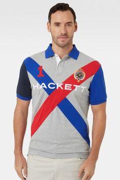 Cross Hackett Short Sleeved Polo Shirt