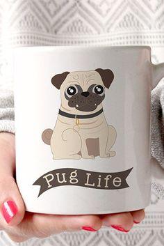 You really need this pug mug in your life