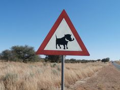 Namibia Road signs