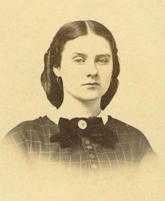 "Katie Gore. (1860) On April 12, 1862, Abijah Fisk Gore, a Union soldier, sent a letter to his sister Katie describing the Battle of Shiloh. Gore wrote, ""Oh Katie it is fearful to walk over such a battle field, even after the human bodies are removed, and with them remaining it's awful. Language is inadequate to express my feelings upon the occasion, and I could not help but wonder, why God would permit such things to be, upon this beautiful Earth of his…."" ©Missouri History Museum"