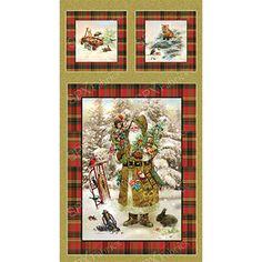 OLD WORLD CHRISTMAS PANEL | Peppy-tkani.ru - интернет-магазин тканей для пэчворка и сопутствующих материалов