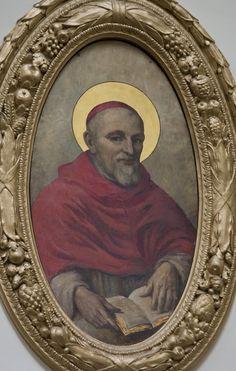 Saint Robert Bellarmine / San Roberto Belarmino / Saint Robert Bellarmin // This image is from the Jesuit church in Edinburgh // Photo: Lawrence OP // Roberto Francesco Romolo Bellarmino (1542-1621)