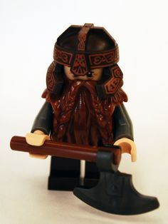 """Lord of the Rings Dwarf #celtic LEGO #toy"""