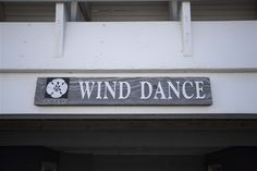 WIND DANCE #479 l Outer Banks Vacation Rental Home - Beach Cottage Sign l www.CarolinaDesigns.com Beach House Names, Beach House Signs, Beach Signs, Home Signs, Cottage Names, Cottage Signs, Outer Banks Vacation Rentals, Beach Cottages, Dance