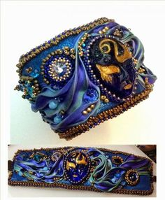 Украшения шибори — новинка на рынке хендмейд - Ярмарка Мастеров - ручная работа, handmade