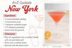 Easy to Make Cocktail Recipes - 26 Easy Cocktail Drinks