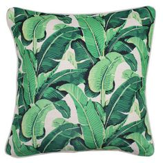 Banana Leaf Cushion  60 x 60cm