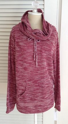 Stitch Fix Review - October 2014 Hoodie - I like the style but not the color.