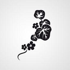 Flora 2_85 - Dewiha Art - Muursjablonen en Muurstickers