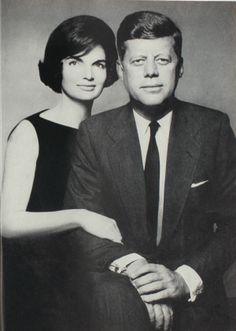 THE PRESIDENTIAL COUPLE IN HARPER'S BAZAAR, 1961