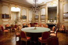 The games room of Louis XVI