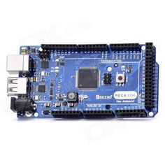 Eduino Mega ADK R3 Module - Blue + Black (Works with Official Arduino Boards). Color: Blue + black - Quantity: 1 - Material: PCB - Microcontroller: ATmega2560 - Operating Voltage: 5V - Input Voltage (recommended): 7-12V - Input Voltage (limits) : 6-15V - Digital I/O Pins: 54 (of which 15 provide PWM output) - Analog Input Pins: 16 - DC Current per I/O Pin: 40 mA - DC Current for 3.3V Pin: 100 mA - Flash Memory: 256 KB of which 8 KB used by bootloader - SRAM: 8 KB - EEPROM: 4 KB - Clock…