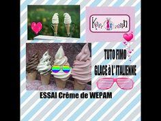 TUTO FIMO Glace à l'italienne en creme de wepam