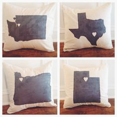 Making this!!  Personalized City & State Pillow Cover - 100% Linen - Custom City Pillow Cover - Seattle  Pillow Cover - wedding gift - housewarming gift