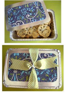 This is a fantastic idea & I need to remember it!!! Tins can also be found at the dollar store :)
