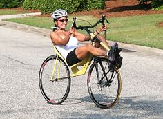 Woman Attempts 12-hour World Record on New Front-Wheel-Drive Recumbent Bicycle - Recumbent-gallery.eu