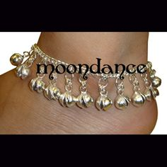 Jinggle Anklet from moondancebellydance.com - $6.99